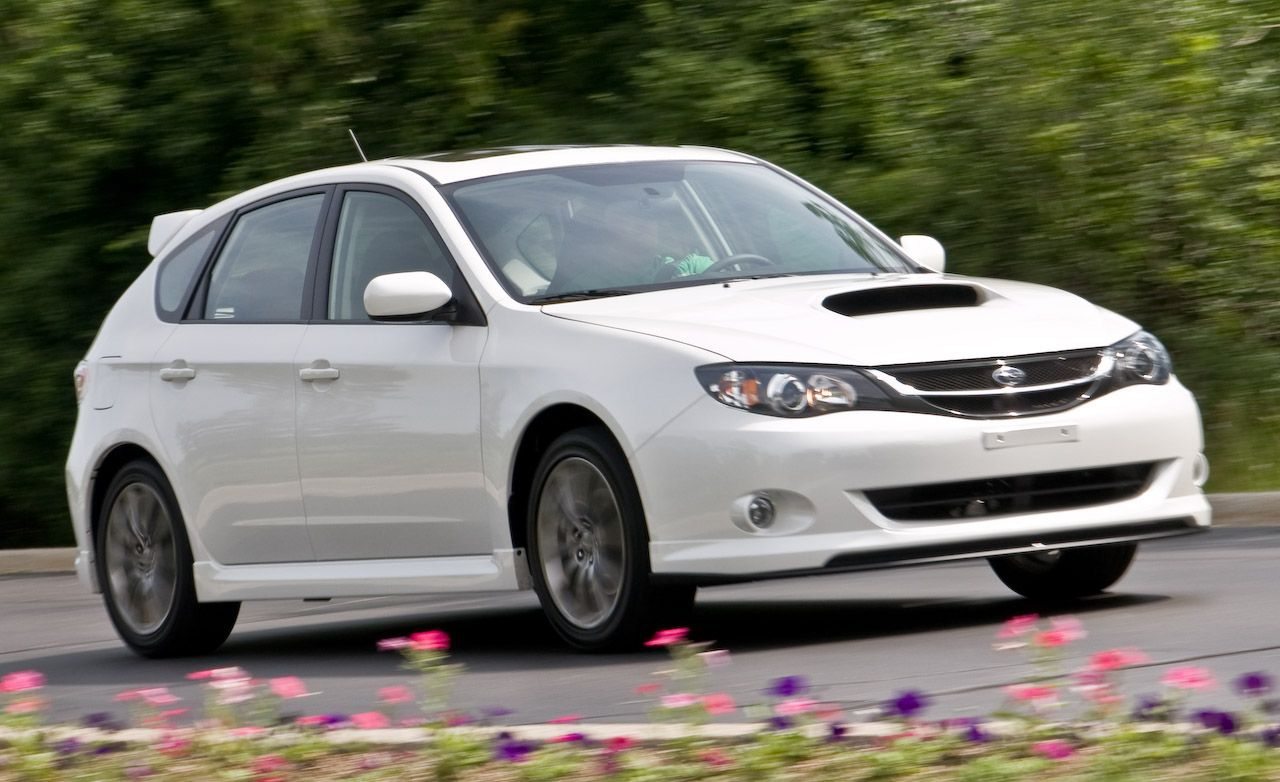 2009 Subaru Impreza WRX with Subaru Performance Tuning (SPT) Parts