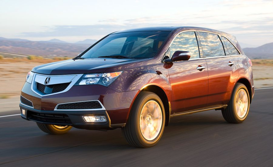 2010 acura mdx review car and driver. Black Bedroom Furniture Sets. Home Design Ideas