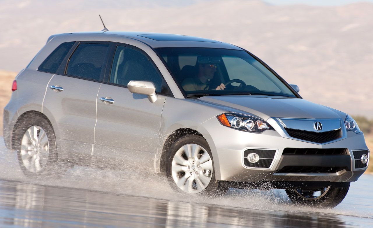 2010 acura rdx front wheel drive road test review car and driver rh caranddriver com 2011 Acura RDX 2011 Acura RDX
