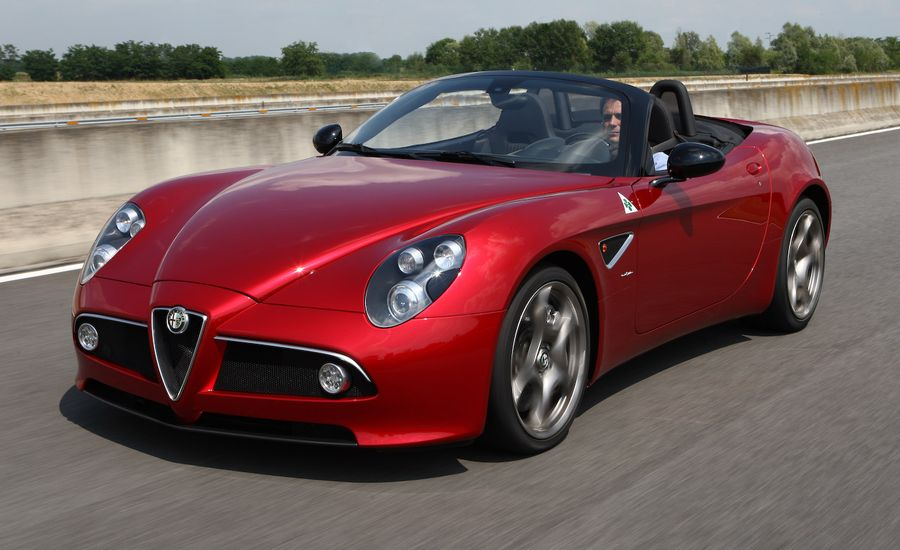 2010 Alfa Romeo 8C Spider   Review   Car and Driver