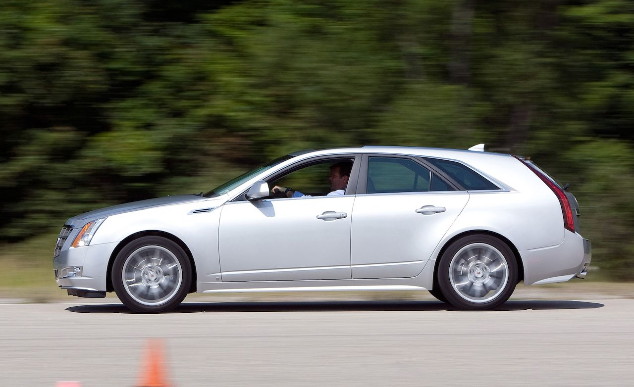 2010 Cadillac Cts Sport Wagon 3 6 Road Test Review Car And Driver