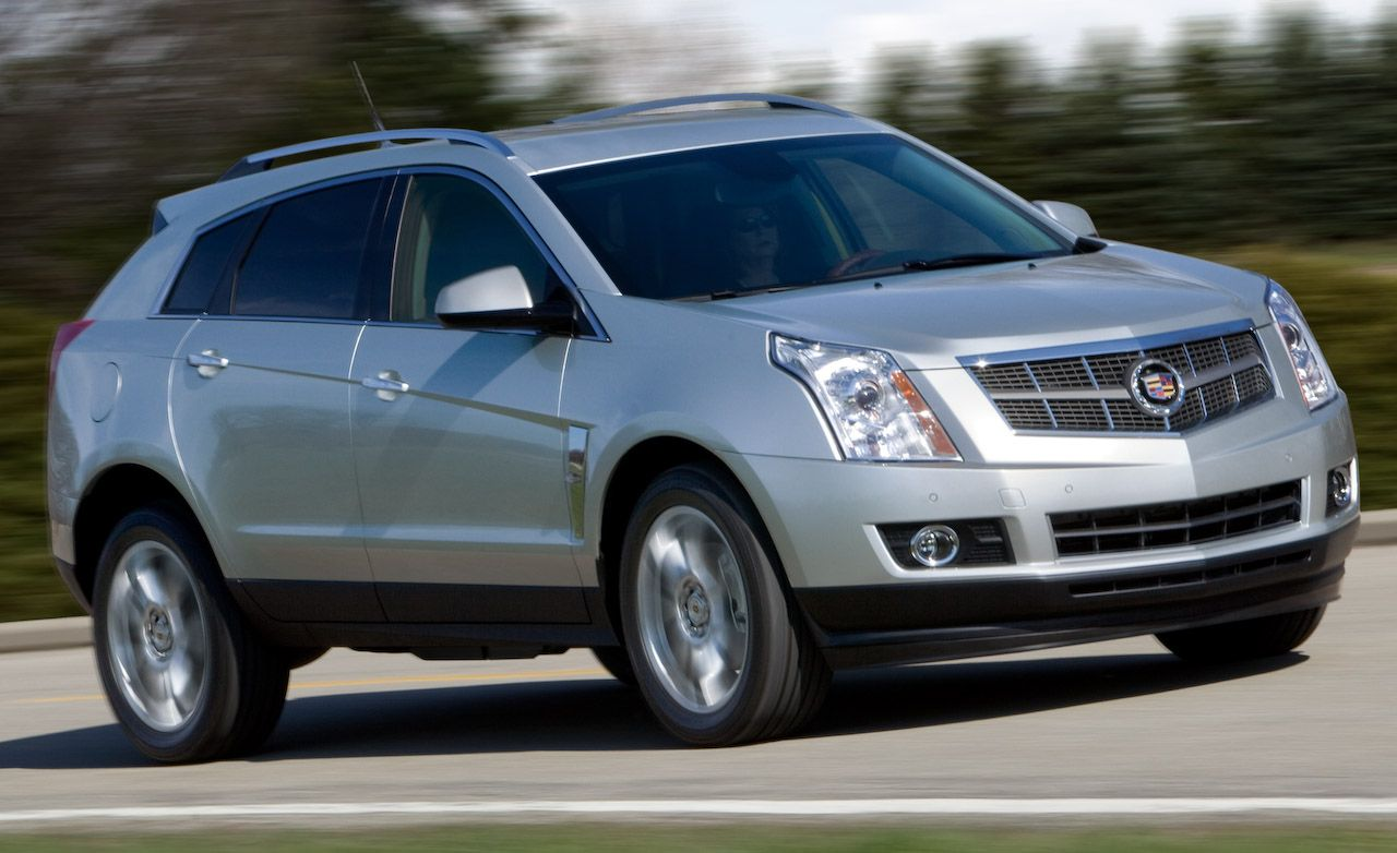 2010 Cadillac Srx 2 8t Review Car And Driver