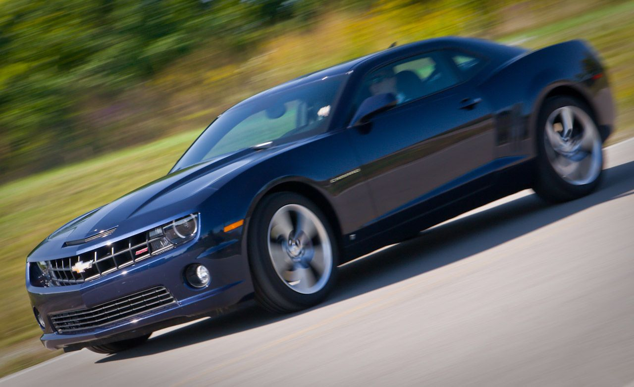 2010 chevrolet camaro ss automatic instrumented test car and driver
