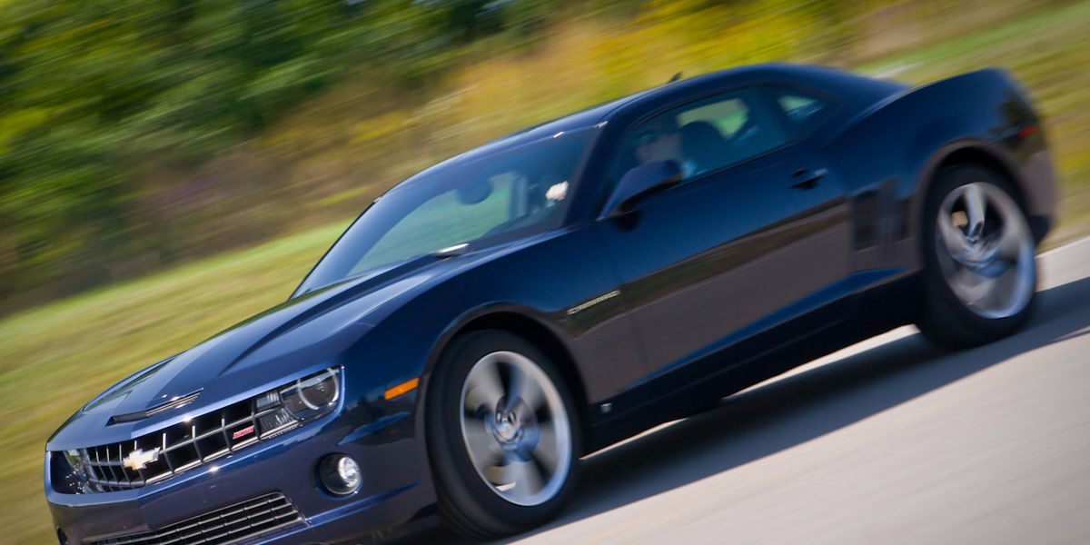 2010 Chevrolet Camaro Ss Automatic 8211 Instrumented Test 8211