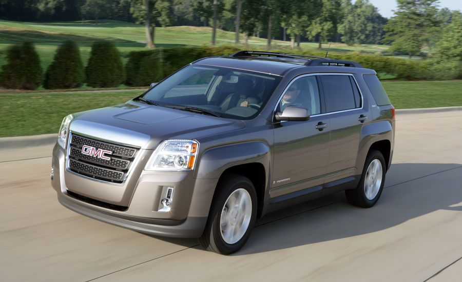 2010 gmc terrain review car and driver. Black Bedroom Furniture Sets. Home Design Ideas