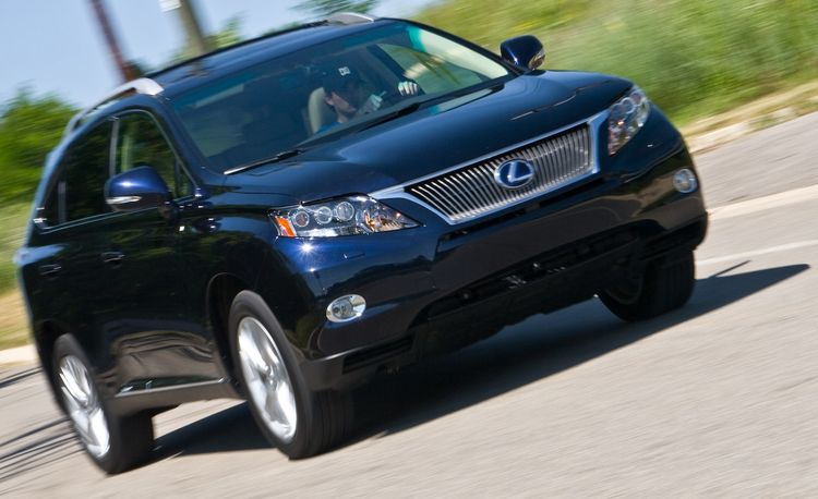2010 Lexus RX450h All-Wheel Drive