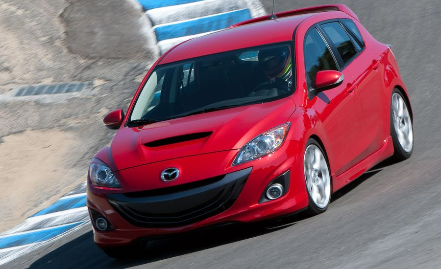2010 mazdaspeed 3 review car and driver. Black Bedroom Furniture Sets. Home Design Ideas