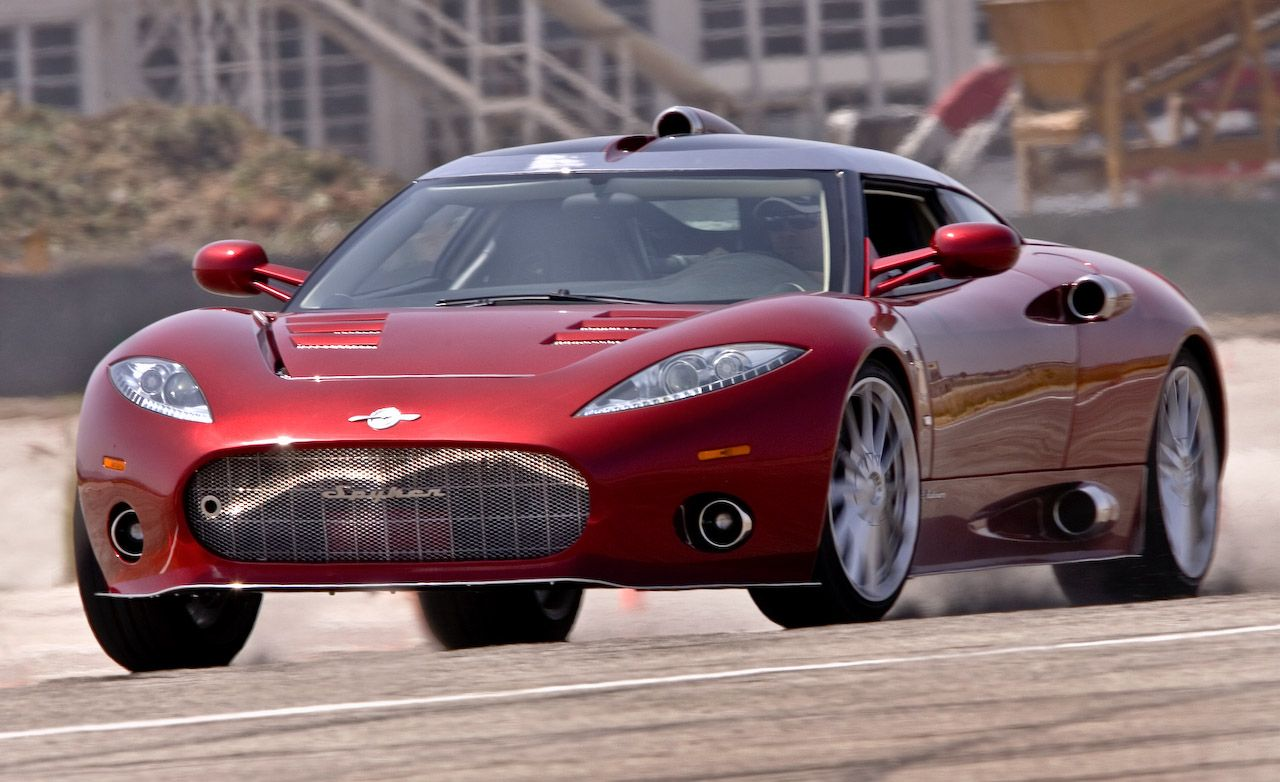 Spyker C8 Reviews | Spyker C8 Price, Photos, and Specs | Car and Driver