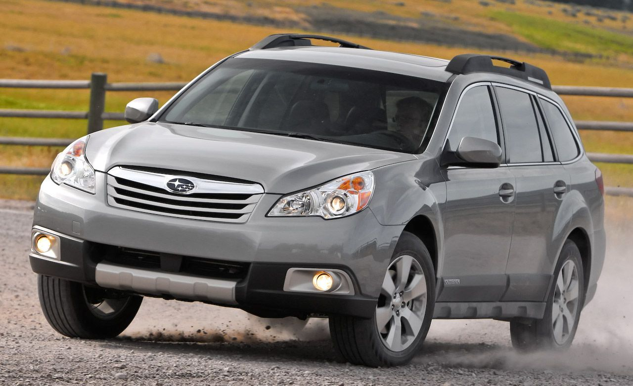 2010 subaru outback review car and driver. Black Bedroom Furniture Sets. Home Design Ideas