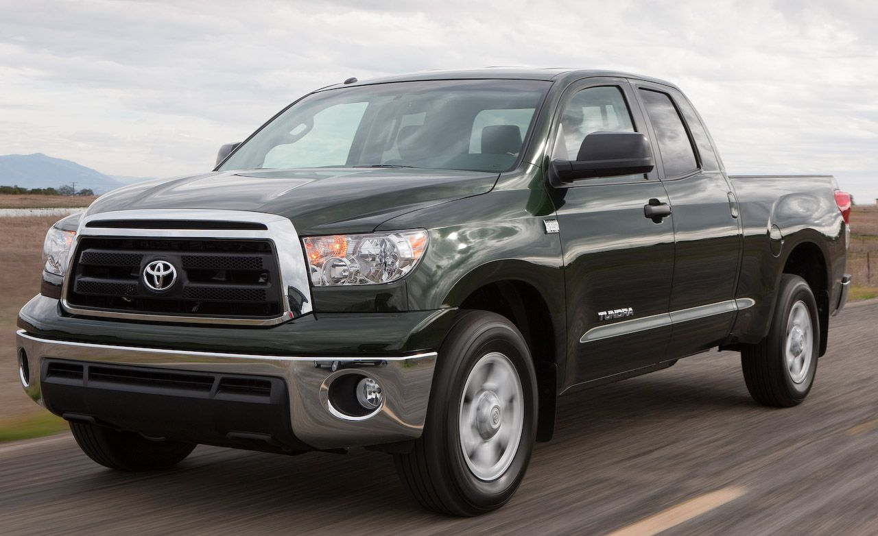 2010 Toyota Tundra 4 6 V8 Review Car And Driver