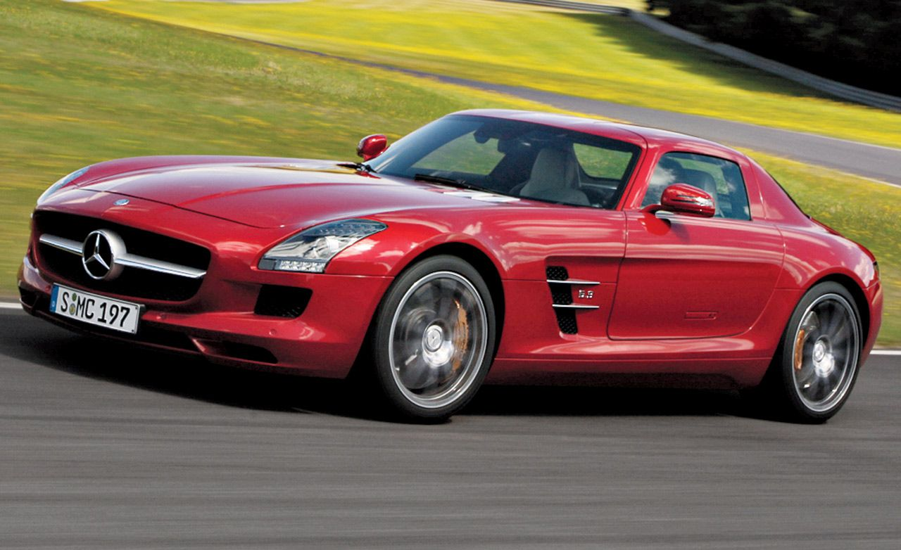2011 mercedes benz sls amg review car and driver. Black Bedroom Furniture Sets. Home Design Ideas