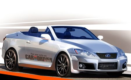 Lexus to Produce IS F Convertible; SC to Get Softtop Successor