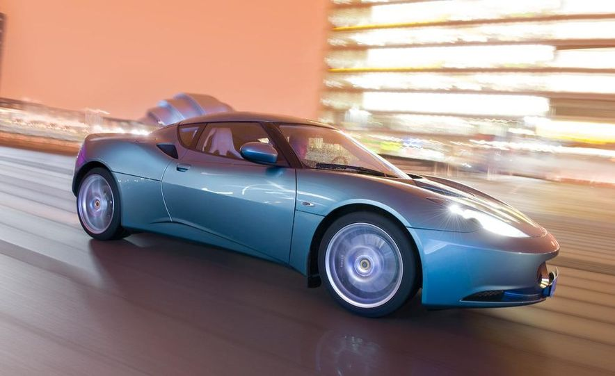 2010 Lotus Evora - Slide 50