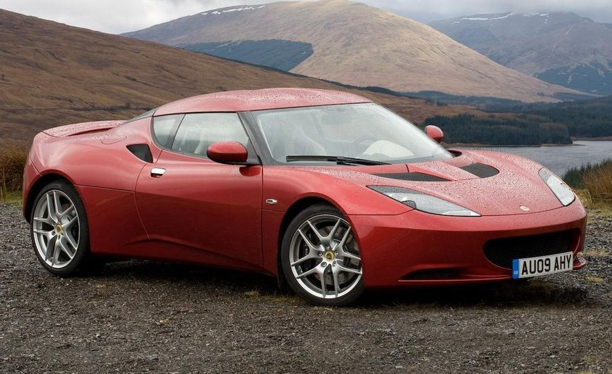 2010 Lotus Evora - Slide 18