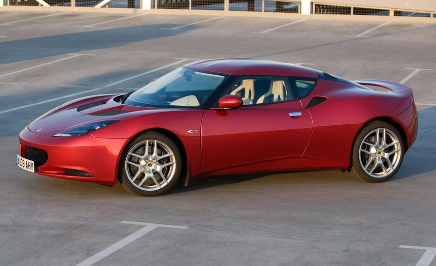 2010 Lotus Evora - Slide 1
