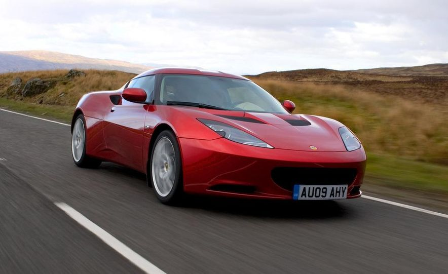 2010 Lotus Evora - Slide 9
