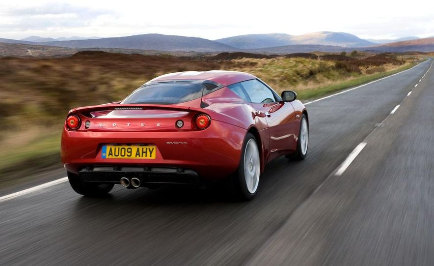 2010 Lotus Evora - Slide 14