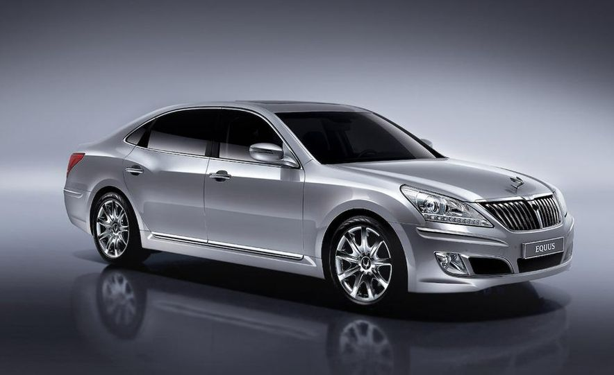 2009 Hyundai Equus (Korean-spec) - Slide 3