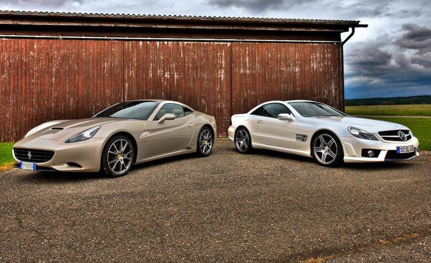 2009 Mercedes-Benz SL63 AMG and 2009 Ferrari California - Slide 7
