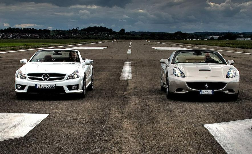 2009 Mercedes-Benz SL63 AMG and 2009 Ferrari California - Slide 5