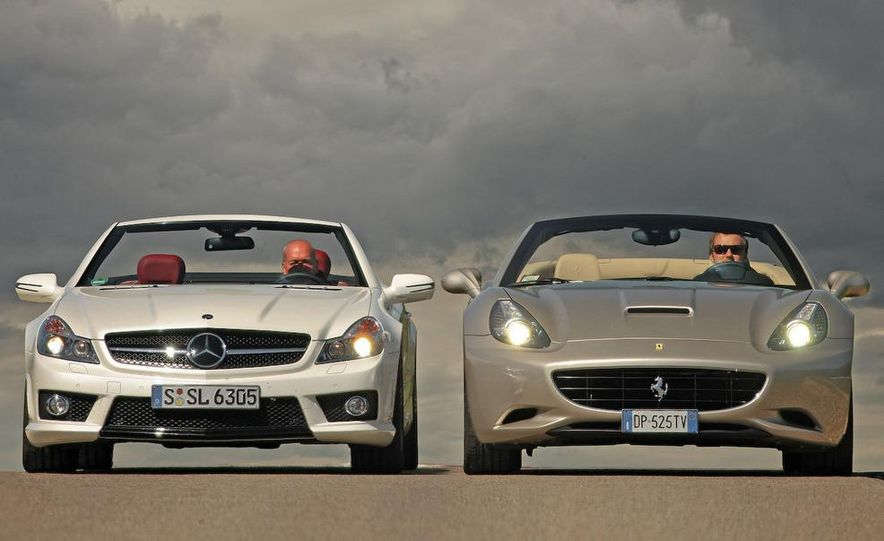 2009 Mercedes-Benz SL63 AMG and 2009 Ferrari California - Slide 6
