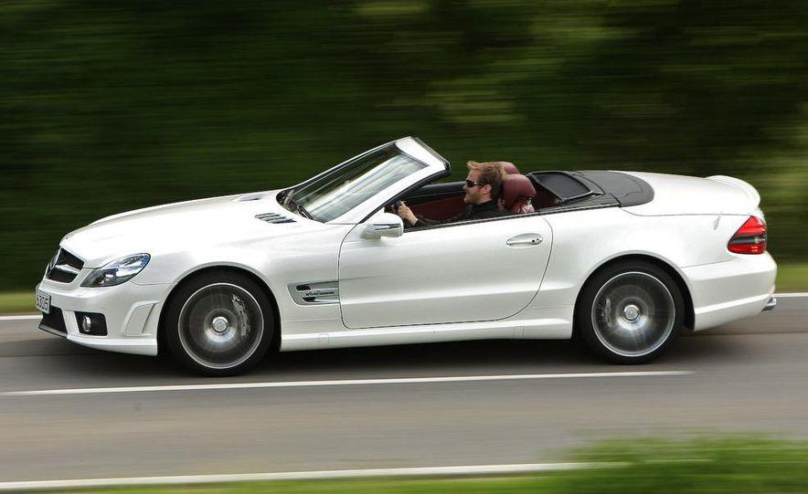2009 Mercedes-Benz SL63 AMG and 2009 Ferrari California - Slide 48