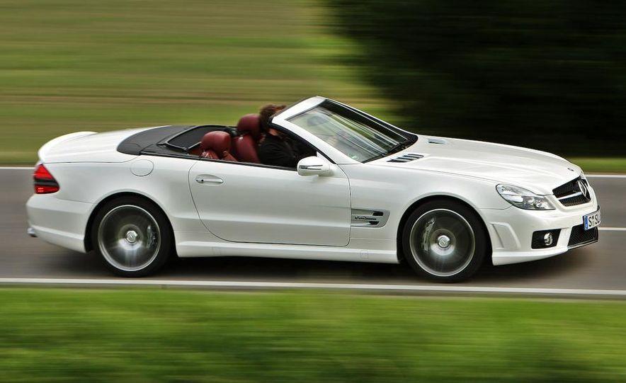 2009 Mercedes-Benz SL63 AMG and 2009 Ferrari California - Slide 49