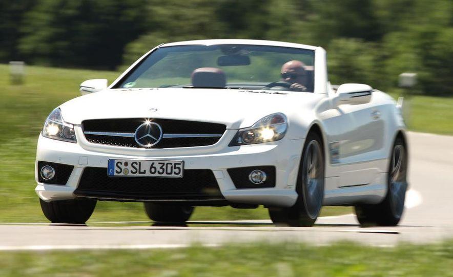 2009 Mercedes-Benz SL63 AMG and 2009 Ferrari California - Slide 51