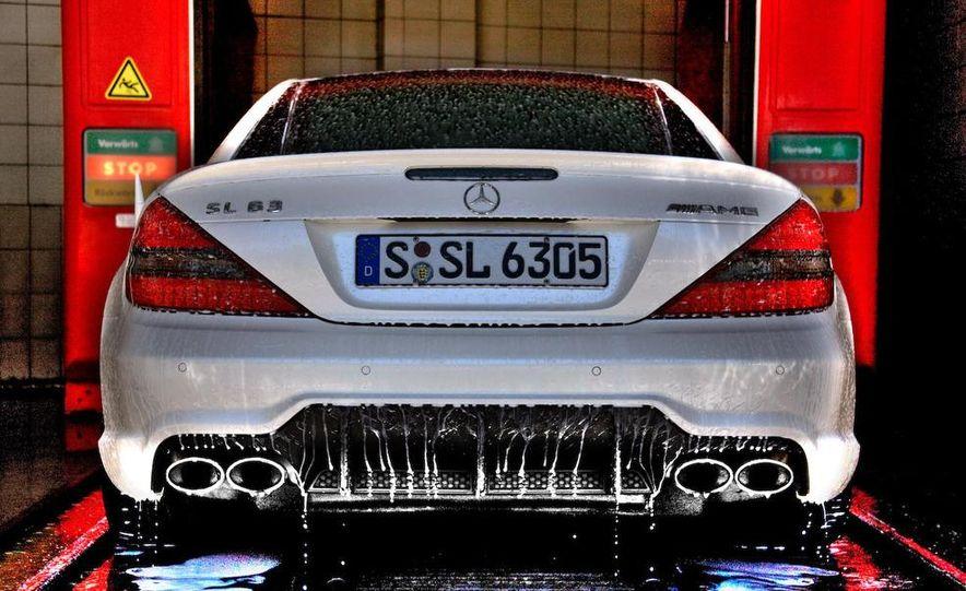 2009 Mercedes-Benz SL63 AMG and 2009 Ferrari California - Slide 54