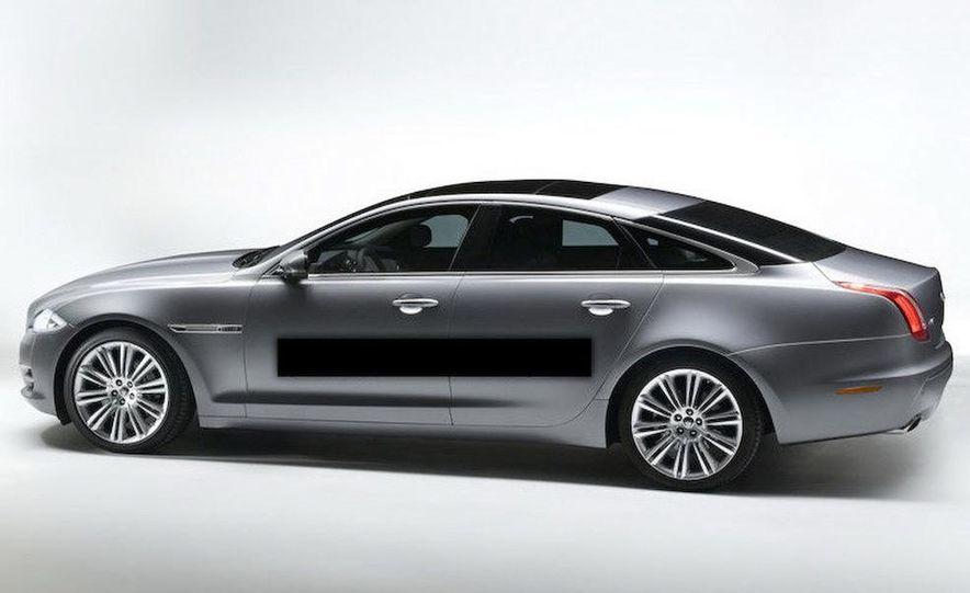 2010 Jaguar XJ (leaked photo) - Slide 1