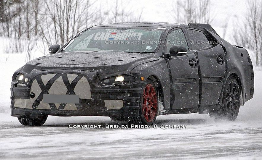 2010 Jaguar XJ (leaked photo) - Slide 4