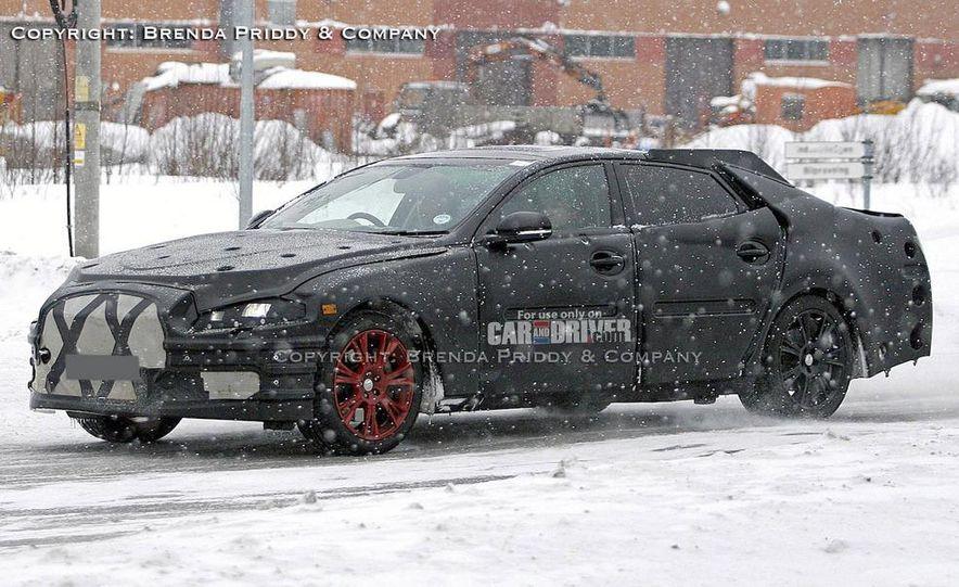 2010 Jaguar XJ (leaked photo) - Slide 5