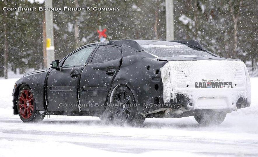 2010 Jaguar XJ (leaked photo) - Slide 6