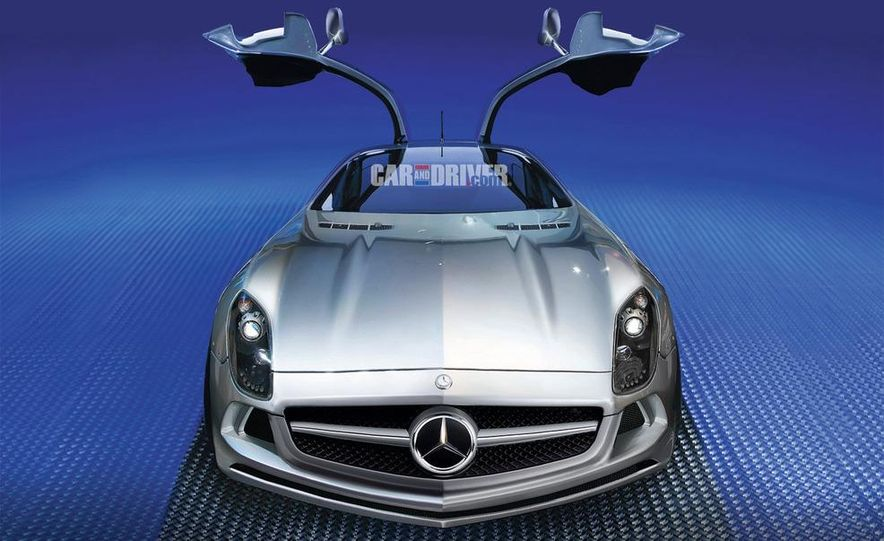 2012 Mercedes-Benz SLS AMG (spy photo) - Slide 7