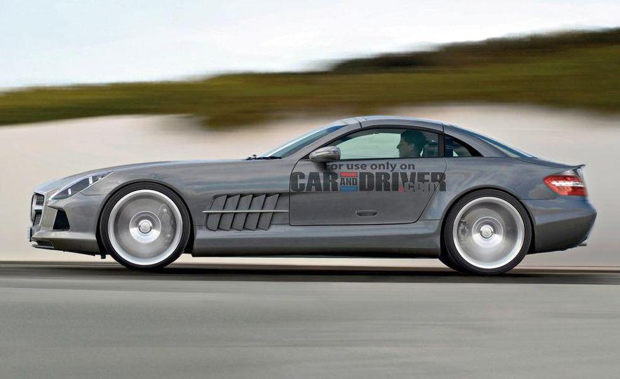 2012 Mercedes-Benz SLS AMG (spy photo) - Slide 32