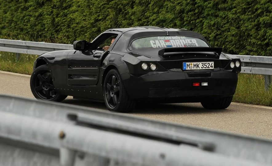 2012 Mercedes-Benz SLS AMG (spy photo) - Slide 37