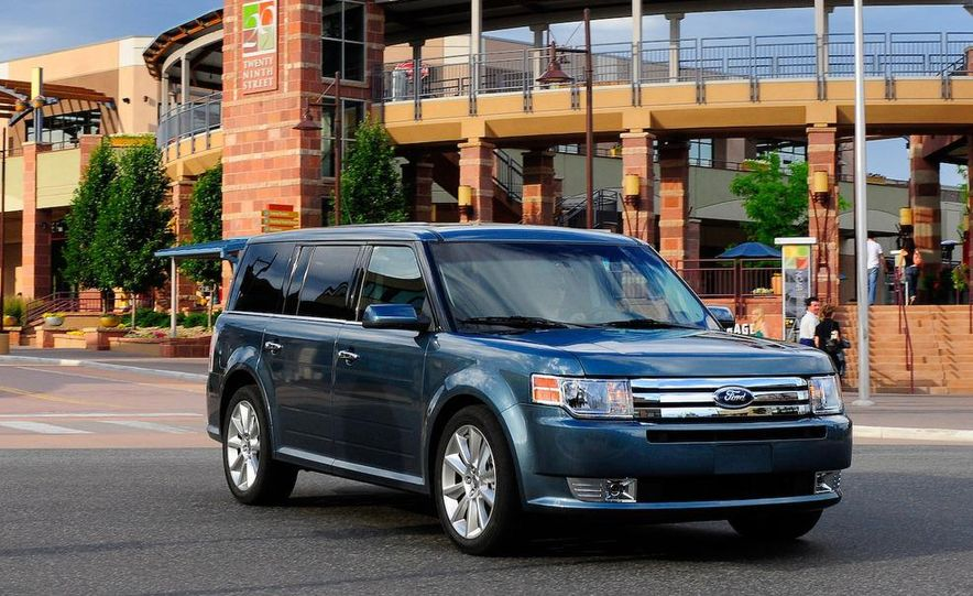 2010 Ford Flex with EcoBoost - Slide 1