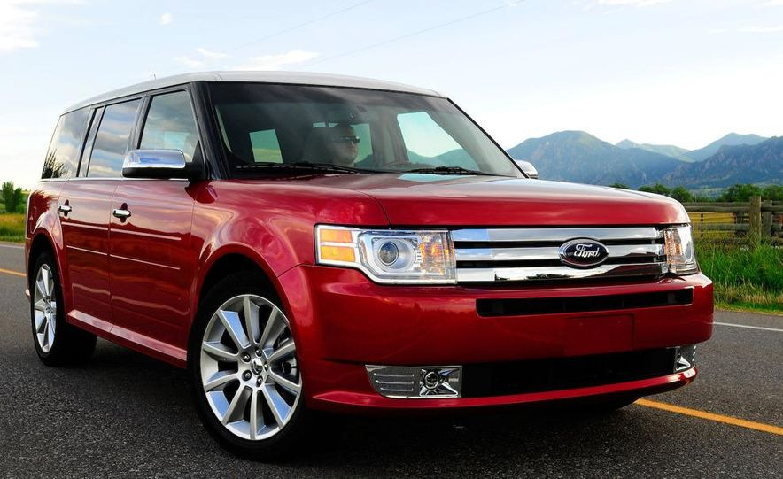 2010 Ford Flex with EcoBoost - Slide 8