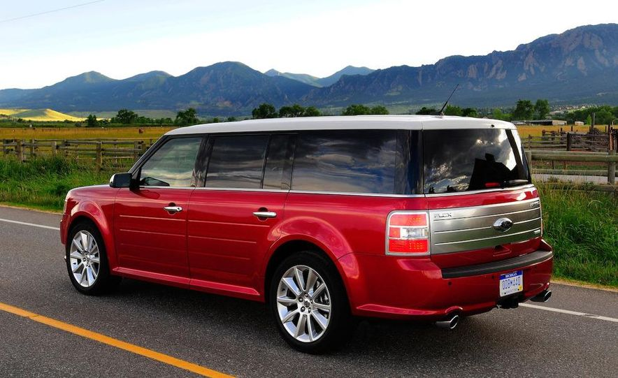 2010 Ford Flex with EcoBoost - Slide 10