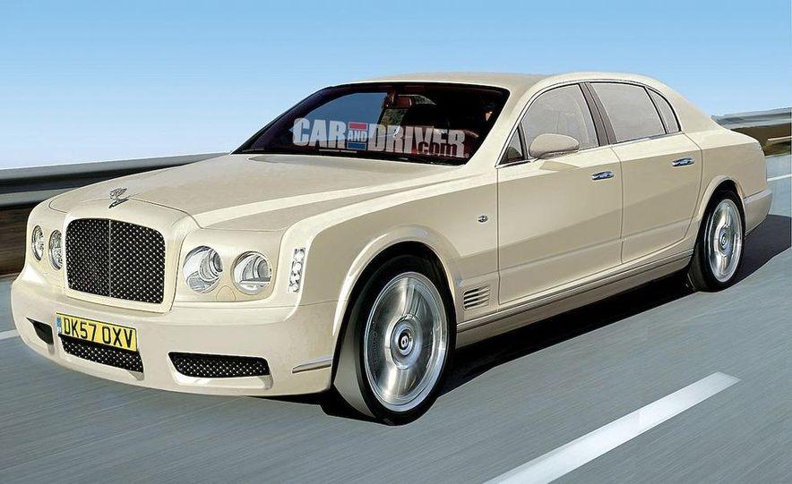 2011 Grand Bentley (artist's rendering) - Slide 1