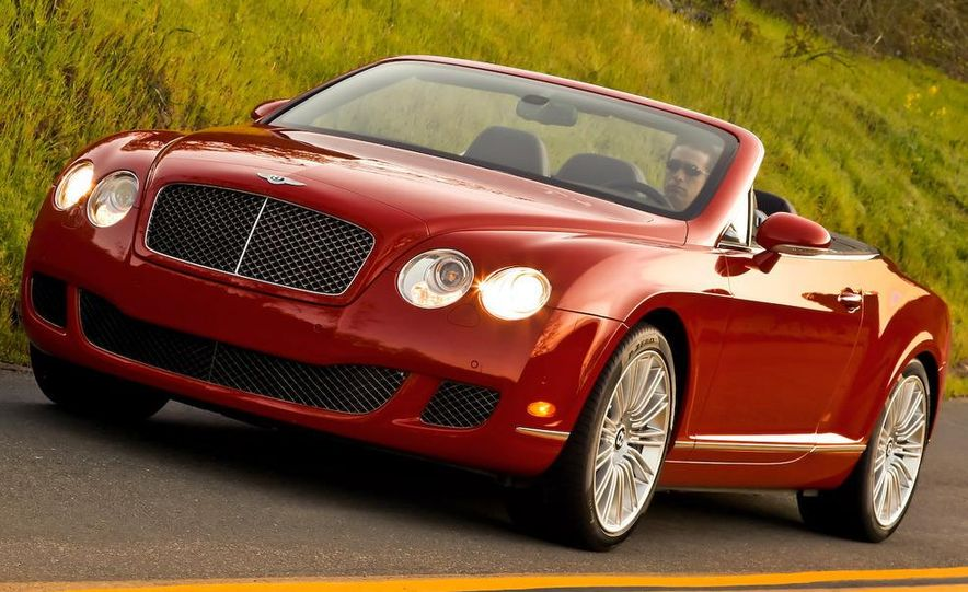 2010 Bentley Continental GTC Speed - Slide 1