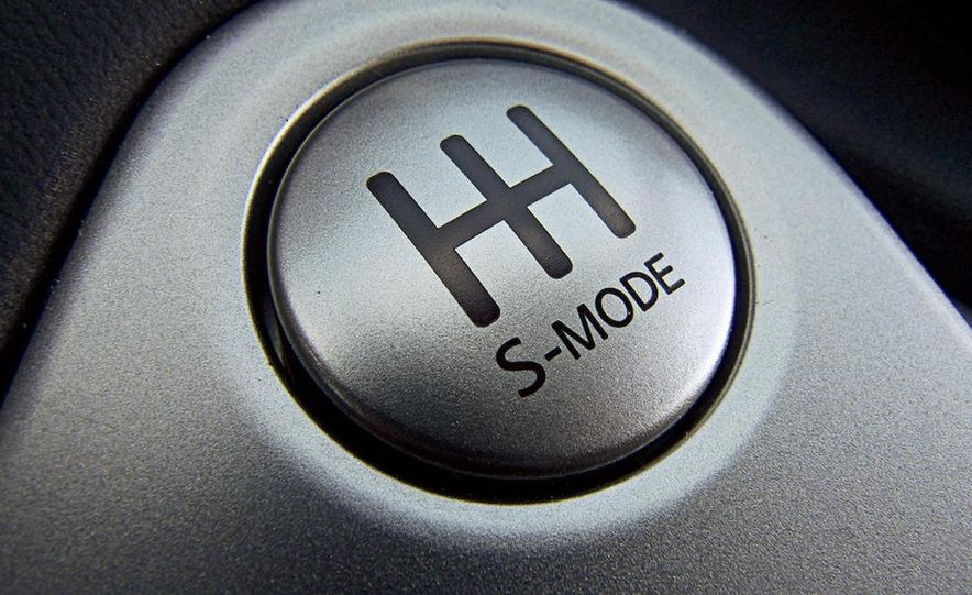 2009 Nissan 370Z SynchroRev Match button - Slide 2