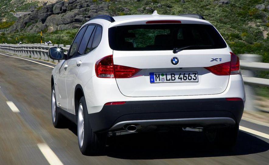 2010 BMW X1 xDrive23d (European model) - Slide 18