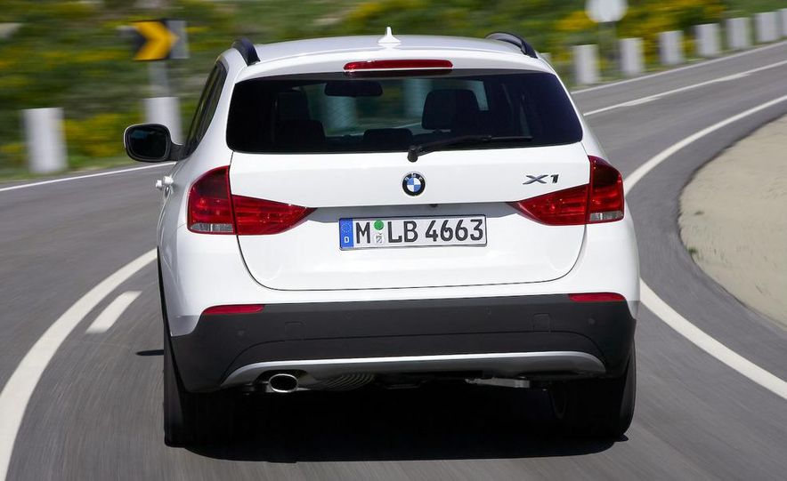 2010 BMW X1 xDrive23d (European model) - Slide 49