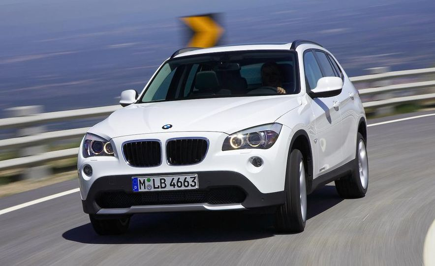 2010 BMW X1 xDrive23d (European model) - Slide 68