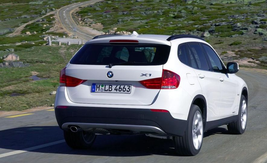 2010 BMW X1 xDrive23d (European model) - Slide 76