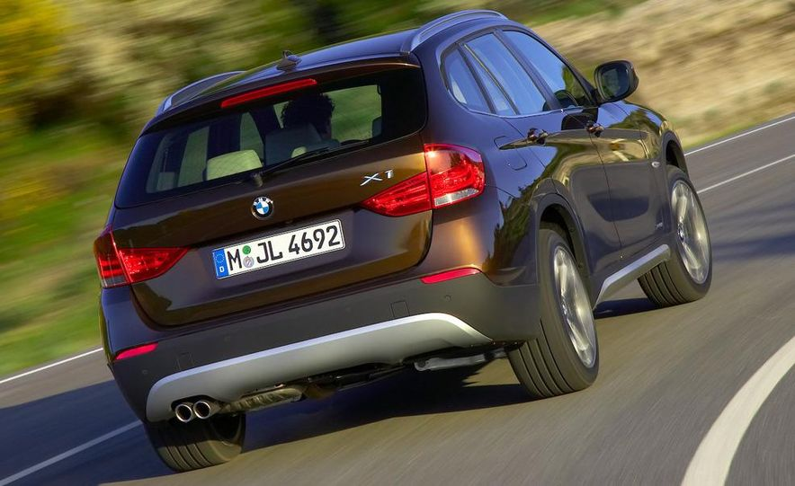 2010 BMW X1 xDrive23d (European model) - Slide 52