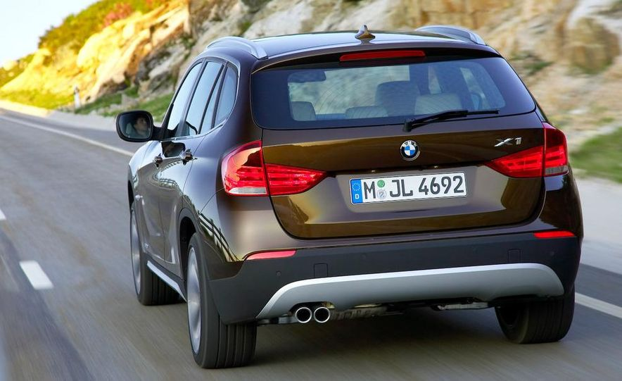 2010 BMW X1 xDrive23d (European model) - Slide 53