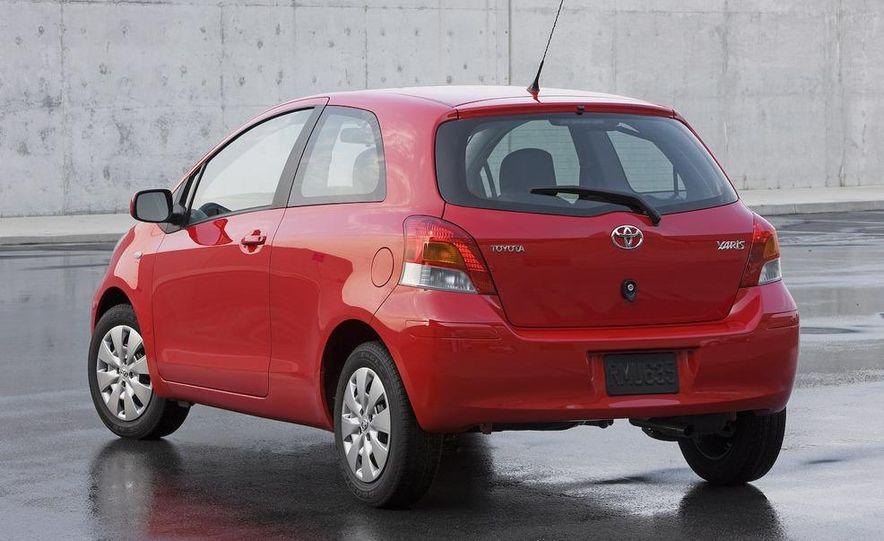 2009 Toyota Yaris 5-door hatchback - Slide 75