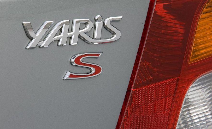 2009 Toyota Yaris 5-door hatchback - Slide 62